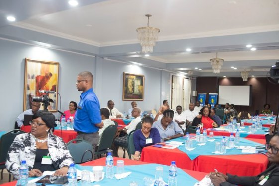 Participants at the session which commenced today at Grand Coastal Inn.