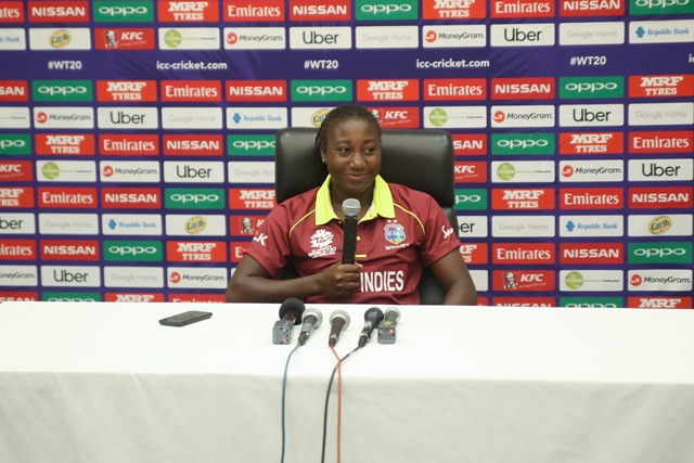 Captain of the West Indies Women team, Stefanie Taylor.