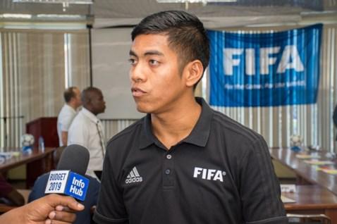 Participating Referee, Ranzolin Durga.