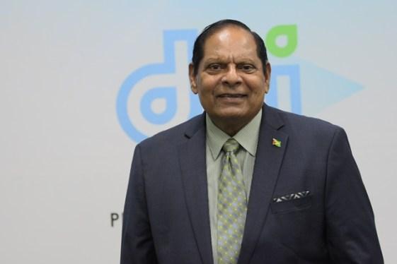 Prime Minister, Cooperative Republic of Guyana, Hon. Moses Nagamootoo