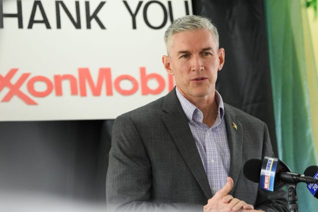 Rod Henson, Country Manager, Exxon Mobil