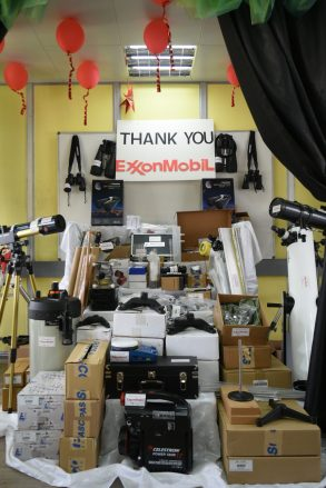 An overview of the equipment purchased for UG's lab