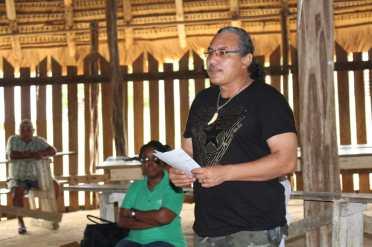 Ministerial Advisor, Ministry of Indigenous People's Affairs, Mervyn Williams