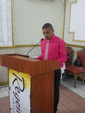District Education Officer (DEO), Devendre Persaud.