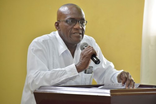 Regional Chairman, Mr. Rennis Morian says young people may be able to source jobs within the region after the Information Communication Technology (ICT) training.