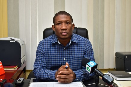 Senior Engineer at the Ministry of Public Infrastructure, Jermaine Braithwaite.