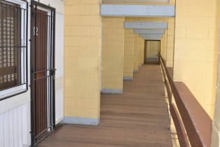 The corridors of North Ruimveldt Multilateral School.