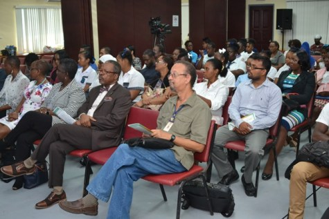 Stakeholders at the launch of the Bachelor of Science in Food Science.