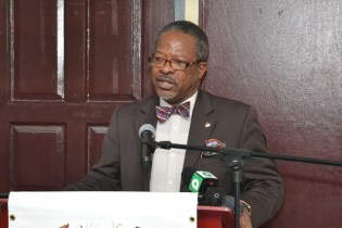 University of Guyana's Vice-Chancellor, Professor Ivelaw Griffith.