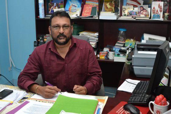 National Tuberculosis Programme Coordinator, Dr. Jeetendra Mohanlall