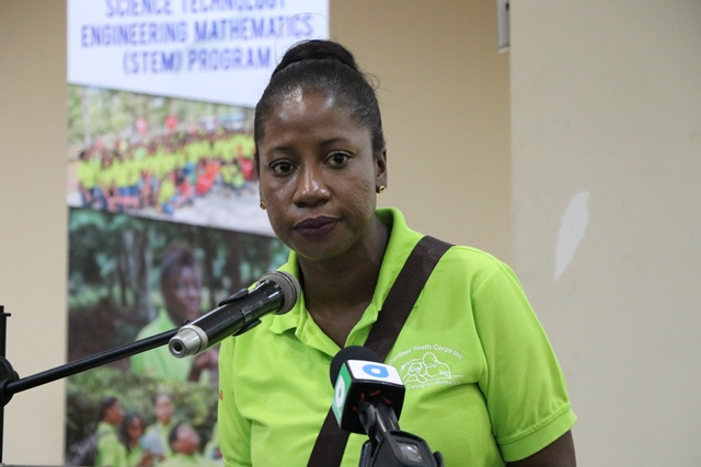 Chief Executive Officer (CEO), Volunteer Youth Corps Incorporated (VYC), Goldie Scott.