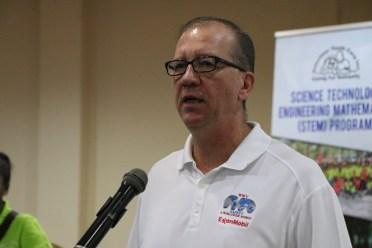 ExxonMobil, Geoscience Manager, Doug Mc Gehee.