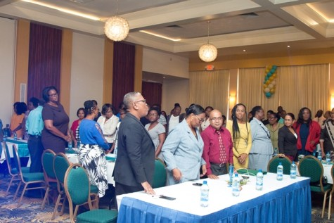 A section of the participants at the Annual Staff Conference.