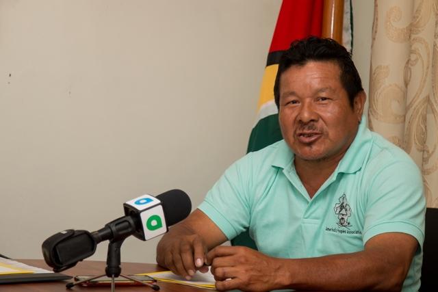 Amerindian Peoples Association (APA), President, Mario Hastings.