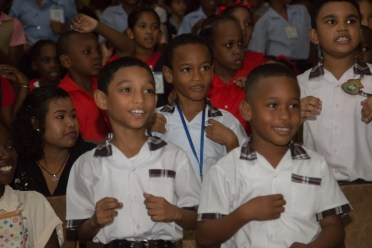 Scenes from day two of Region Four's regional Children Mashramani.
