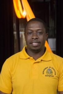 Regional Mashramani Coordinator, Sherwyn Blackman.