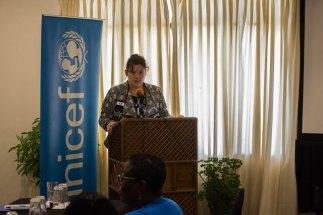 UNICEF Representative Sylvie Fouet