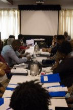Participants at the Ministry of Education's Policy Formulation workshop