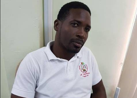 Amelia's Ward Councillor, Lawrence Simon who is also the chairman of the Think Green Steering committee.