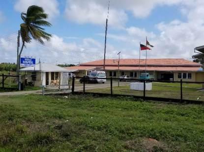 The Mibicuri Hospital in Black Bush Polder.