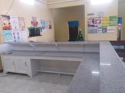 The new nurses' station at Mibicuri.