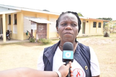 Regional and Clinical Coordinator of the Ministry of Public Health, Caroline Hicks