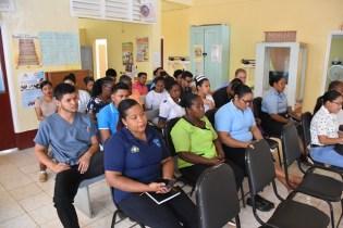 Staff of the Mabaruma Regional Hospital.