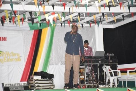 Scenes from Mabaruma's 49th Republic Flag Raising celebrations.