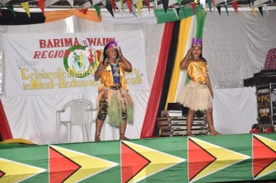 Scenes from Mabaruma's 49th Republic Flag Raising celebrations.
