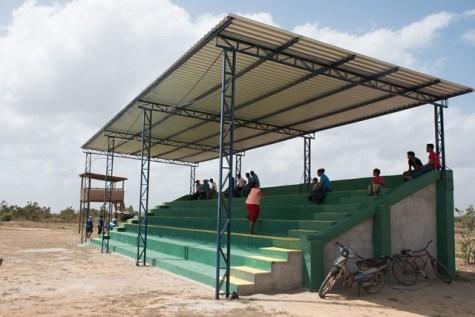 Toka Community Ground, pavilion.