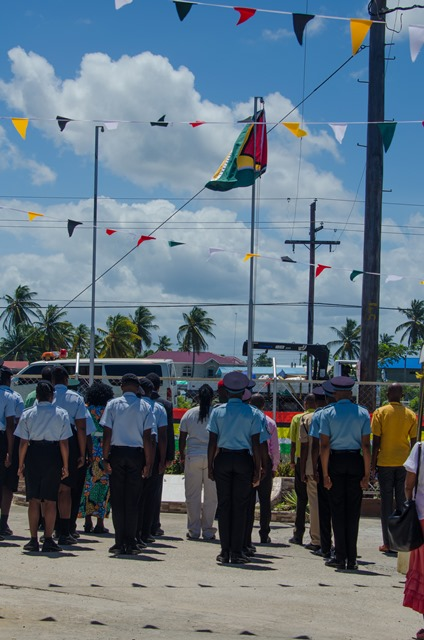 Scenes from the Region Four's 49th Republic Anniversary Flag raising ceremony.
