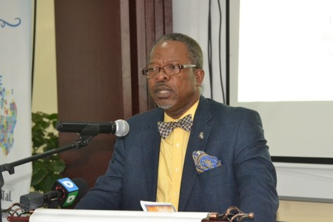 Vice-Chancellor of the University of Guyana, Professor Ivelaw Griffith.