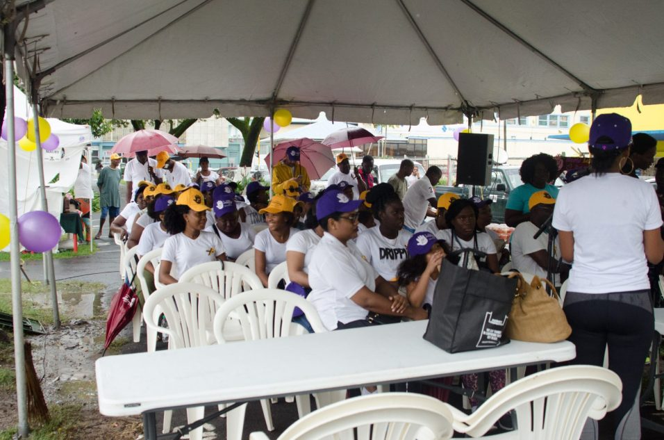 A section of the gathering at World Leprosy Day Parade