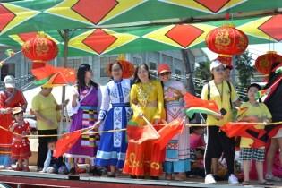 Participating floats at this year's parade.