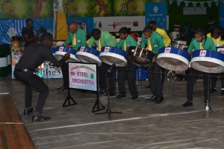Scenes from the Republic Bank Mashramami Pan-o-Rama Steel Band competition.