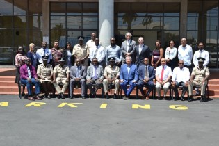 Members of the New Police Reform Change Board, and other stakeholders of the security sector.