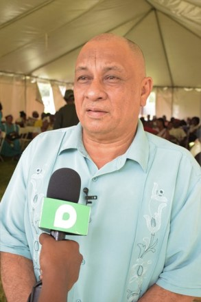 CH&PA Director of the Community Development Department, Gladwin Charles.