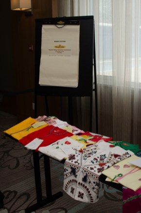 Some products of India exhibits at ITEC Day.