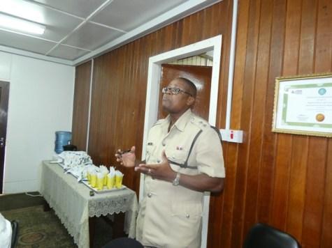 E' Division Deputy Commander Jermaine Harper.