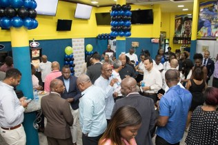 Scenes of the iBET Supreme branch during its official opening.