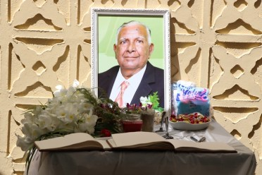 The late Isahack Basir.