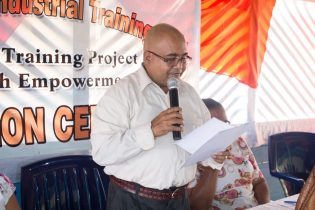 Deputy Permanent Secretary of the Ministry of Social Protection, Mohan Ramrattan