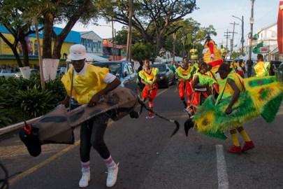 Scenes during the Department of Social Cohesion's Masquerade Jamboree.