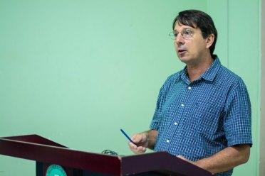Mr. Ian Jones, Emergency Focal Point, UNICEF Guyana.