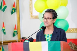 Deputy Chief Education Officer (Administration), Ms. Ingrid Trotman (Ministry of Education photo)