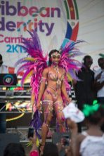 Scenes from the launch of during the launching of the Caribbean Airlines 'Caribbean Identity' campaign.