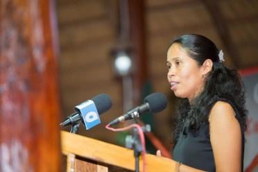 Regional Radio Manager, Michella Abraham-Ali.