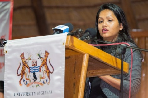 Legal Assistant to the Ministry of Indigenous Peoples' Affairs, Mariam Andrew-Ming.