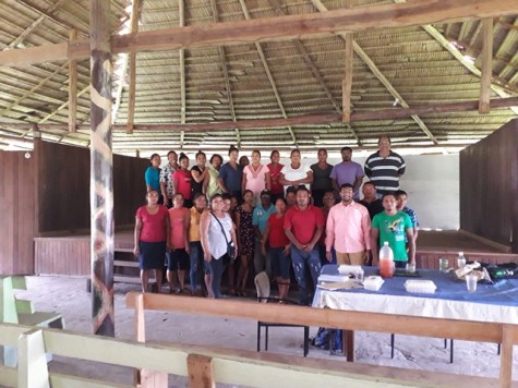 Participants trained at tour guides at Moraikobai.