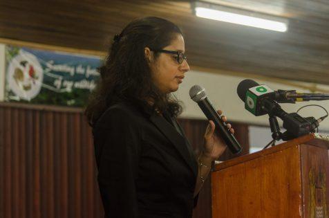 Head of GWCMC,Alona Sankar